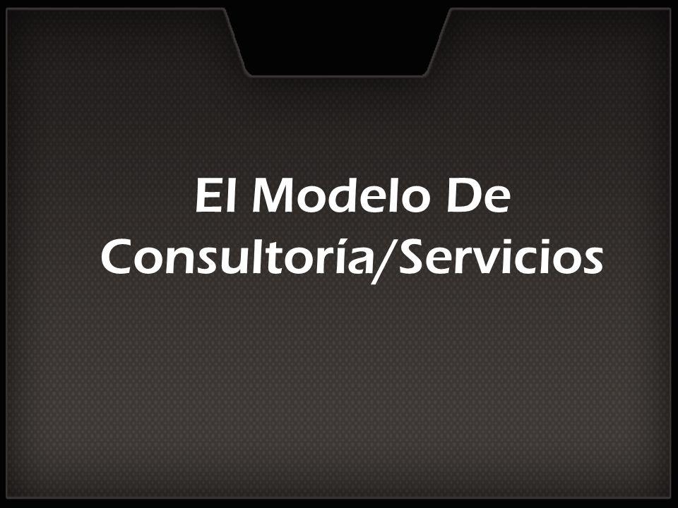 El Modelo De Consultoría/Servicios