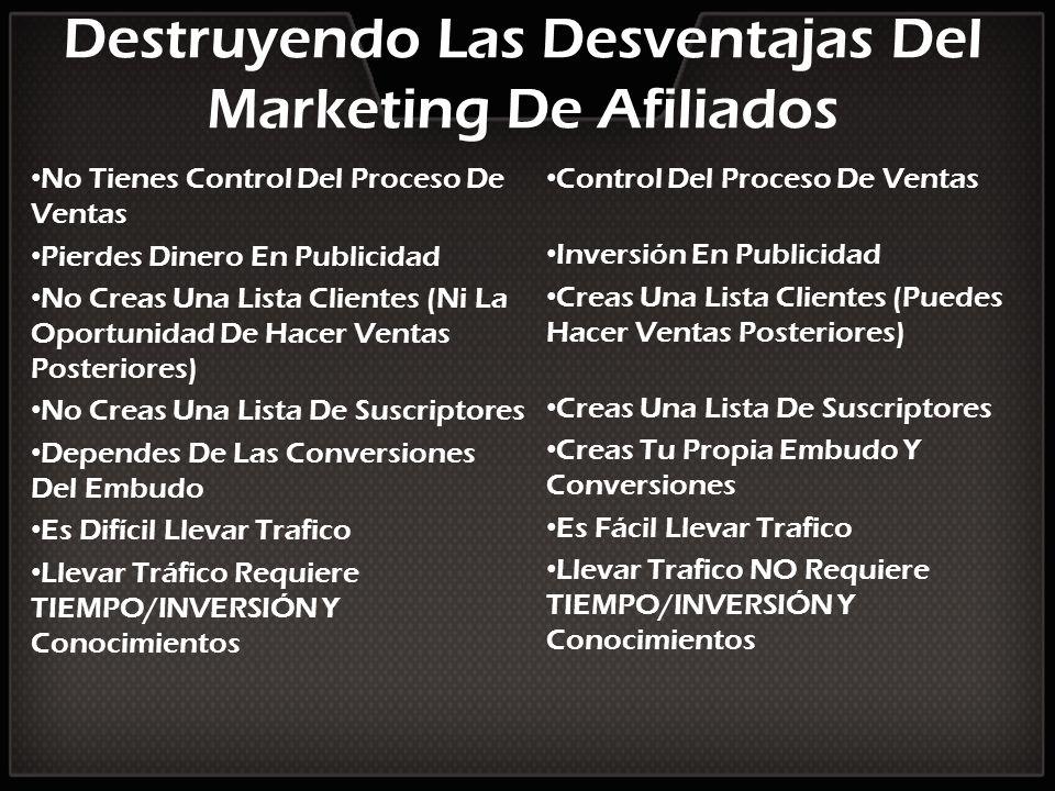 Destruyendo Las Desventajas Del Marketing De Afiliados