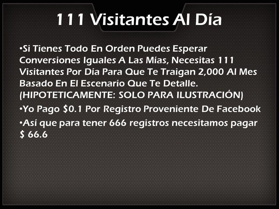 111 Visitantes Al Día