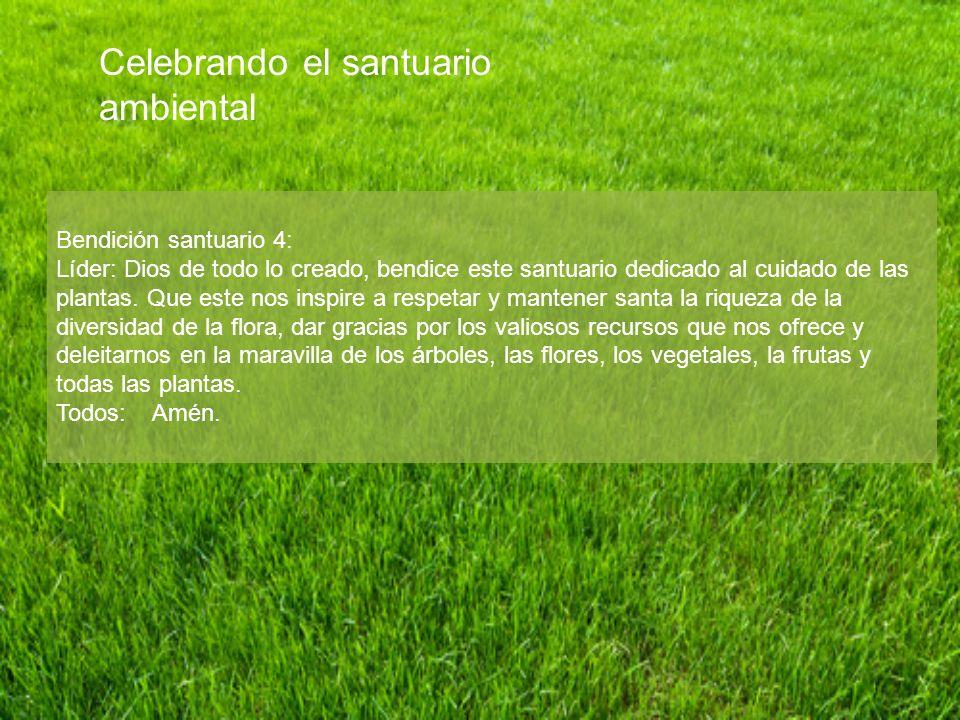 Celebrando el santuario ambiental