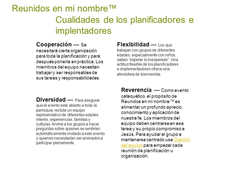 Cualidades de los planificadores e implentadores