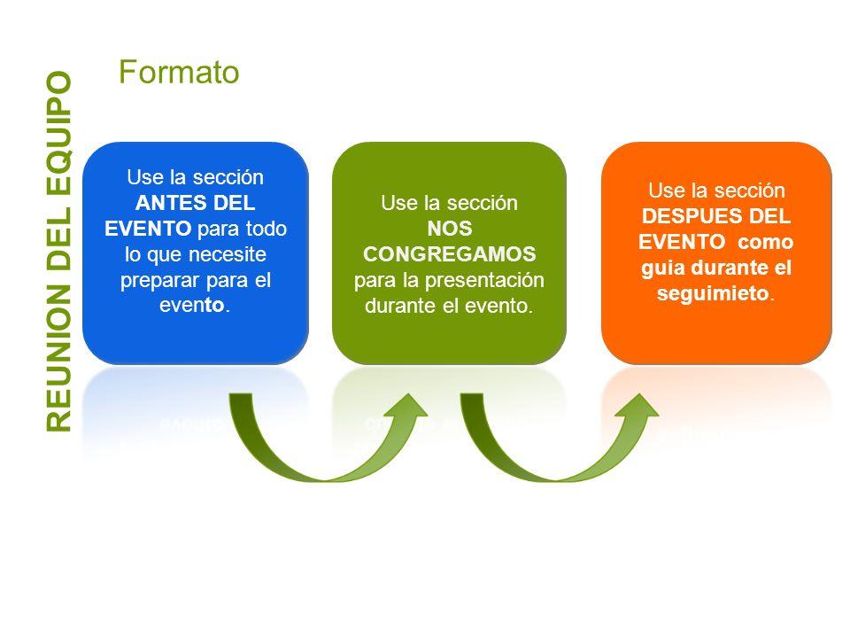Formato REUNION DEL EQUIPO