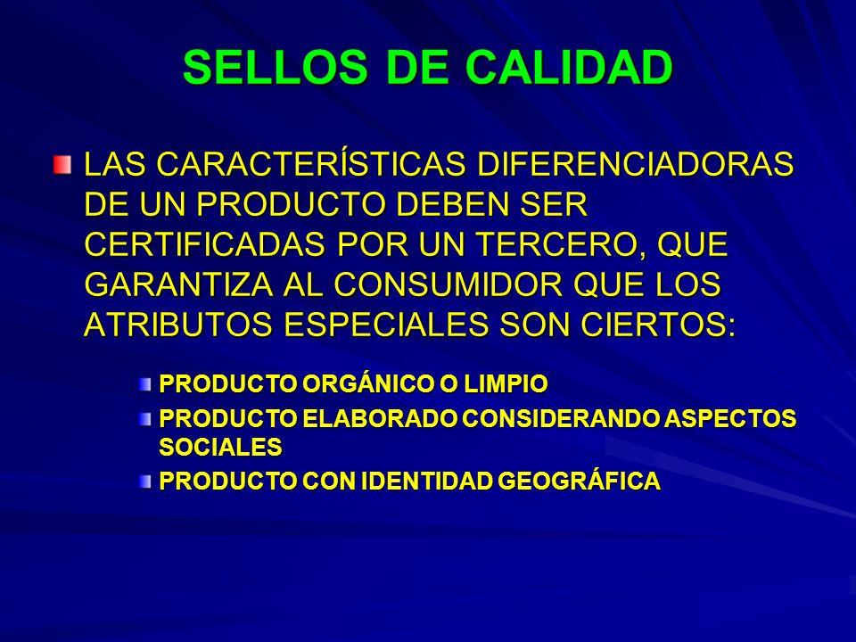 SELLOS DE CALIDAD