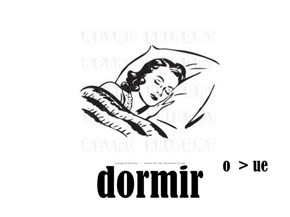 o > ue dormir