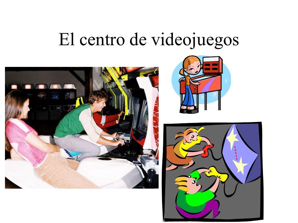 El centro de videojuegos