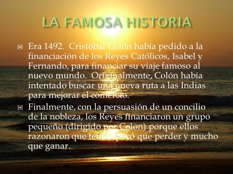 LA FAMOSA HISTORIA