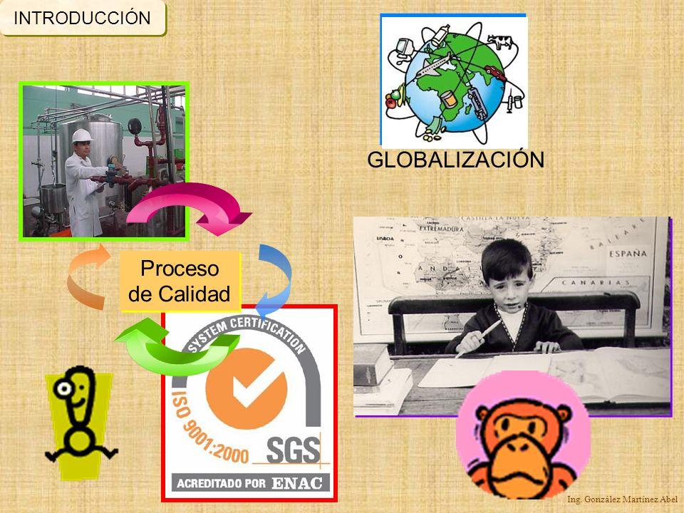 INTRODUCCIÓN GLOBALIZACIÓN Proceso de Calidad