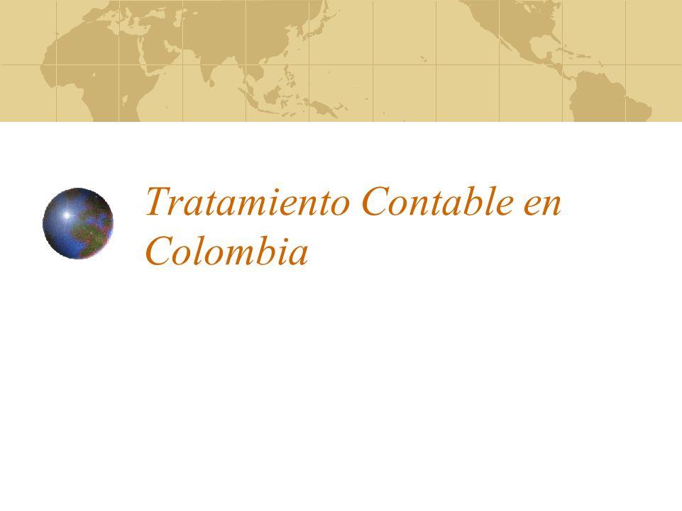 Tratamiento Contable en Colombia