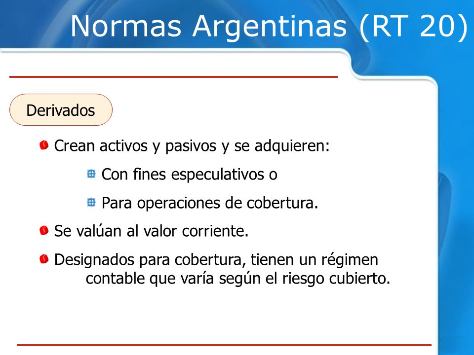 Normas Argentinas (RT 20)