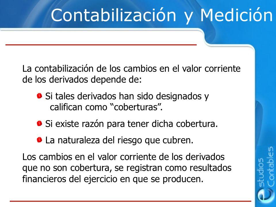 Contabilización y Medición