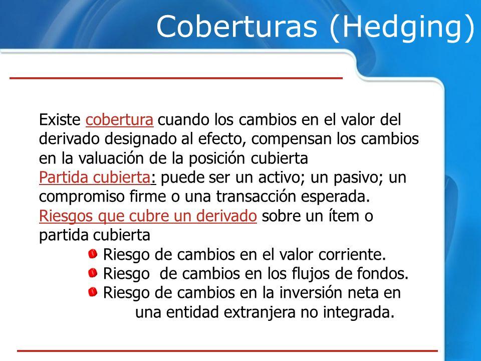 Coberturas (Hedging)