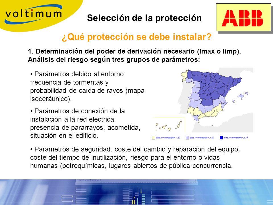 ¿Qué protección se debe instalar