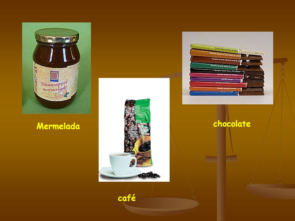 chocolate Mermelada café