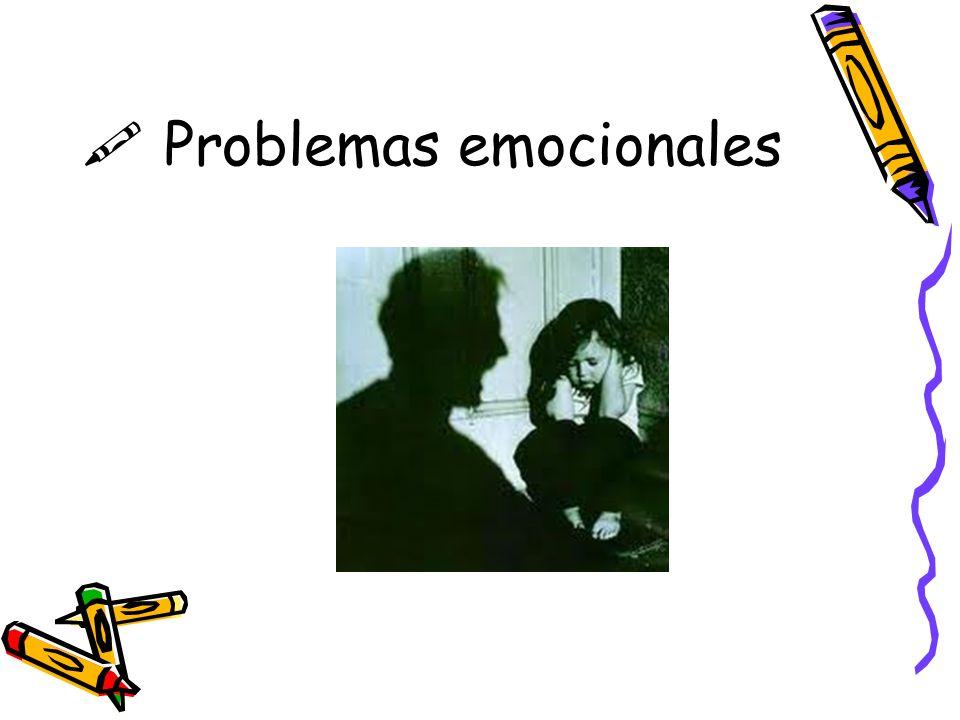 $ Problemas emocionales