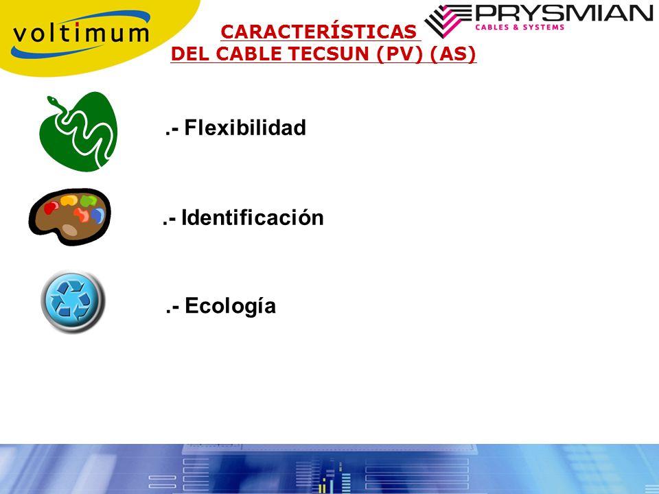 .- Flexibilidad .- Identificación .- Ecología CARACTERÍSTICAS