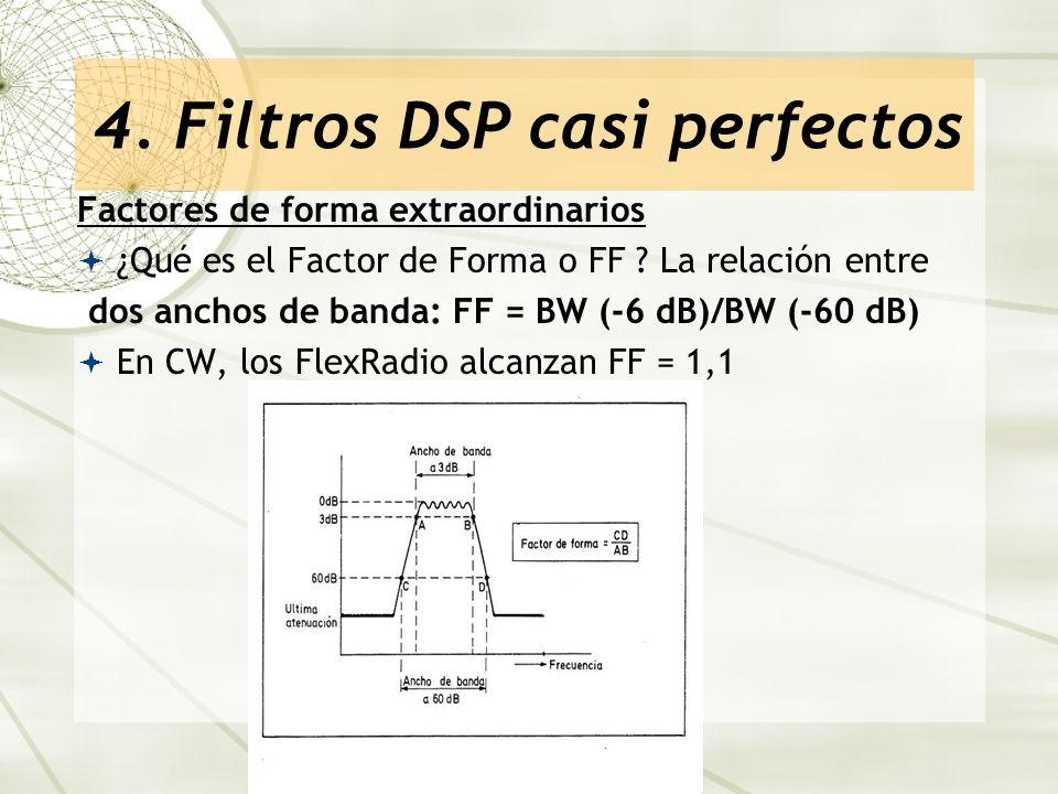 4. Filtros DSP casi perfectos