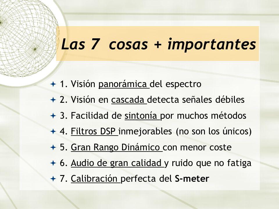 Las 7 cosas + importantes