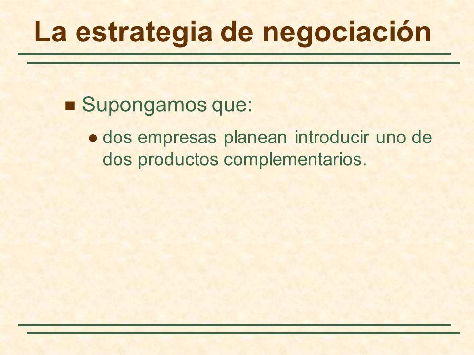 La estrategia de negociación
