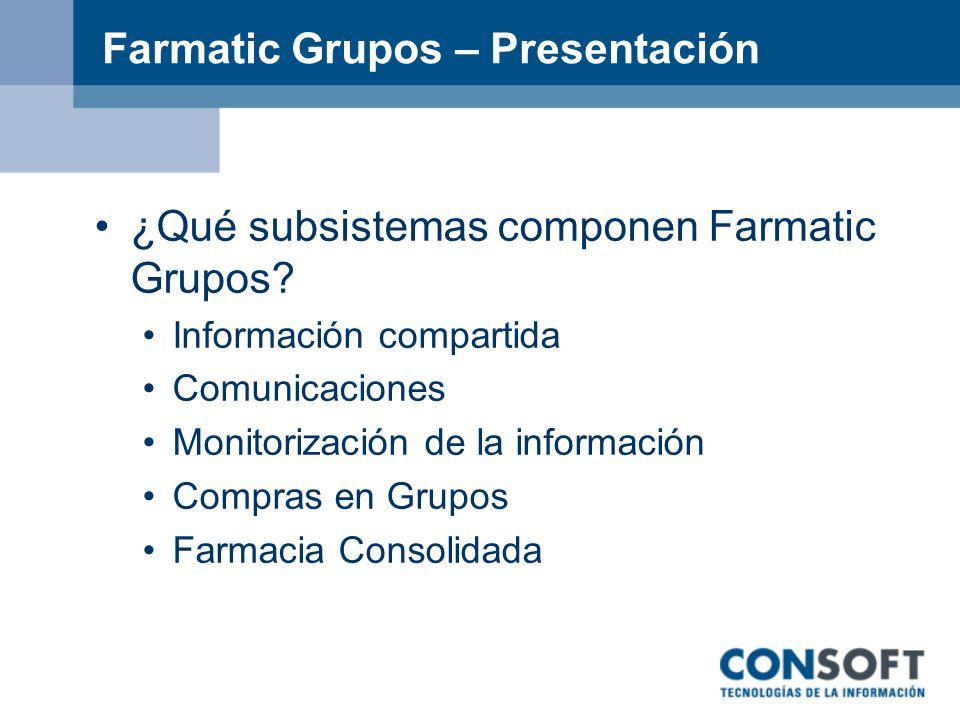Farmatic Grupos – Presentación