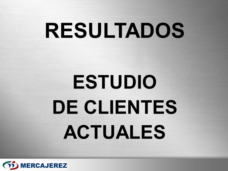 RESULTADOS ESTUDIO DE CLIENTES ACTUALES Page 17