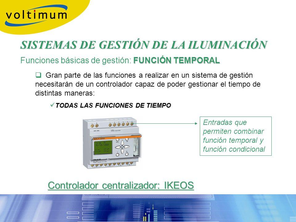 Controlador centralizador: IKEOS