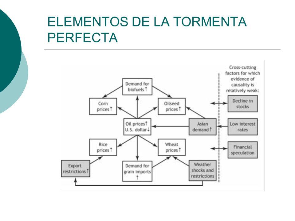 ELEMENTOS DE LA TORMENTA PERFECTA