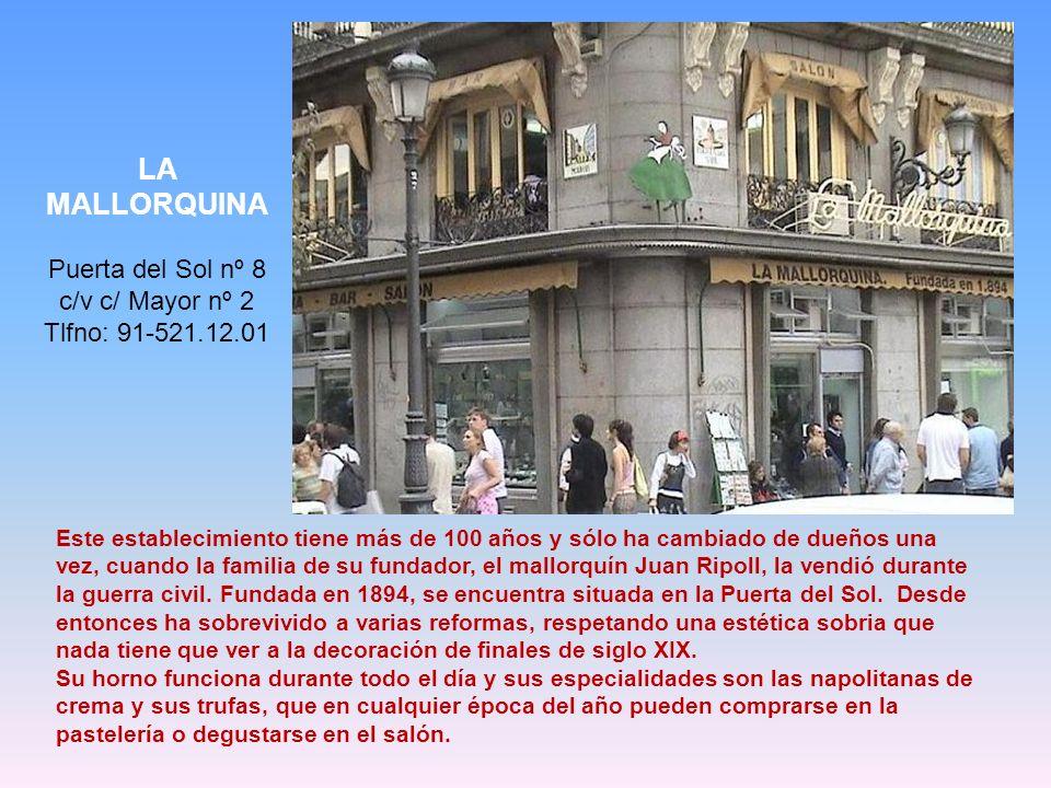 Puerta del Sol nº 8 c/v c/ Mayor nº 2