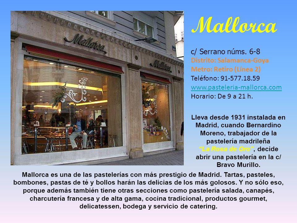 La Rosa de Oro , decide abrir una pastelería en la c/ Bravo Murillo.