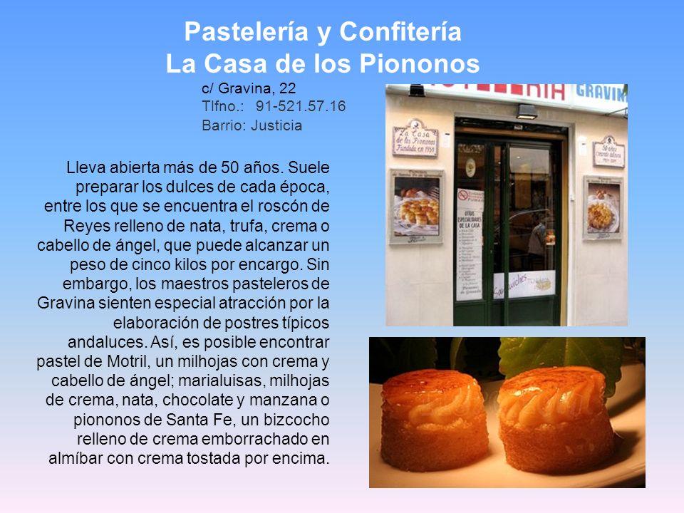 Pastelería y Confitería
