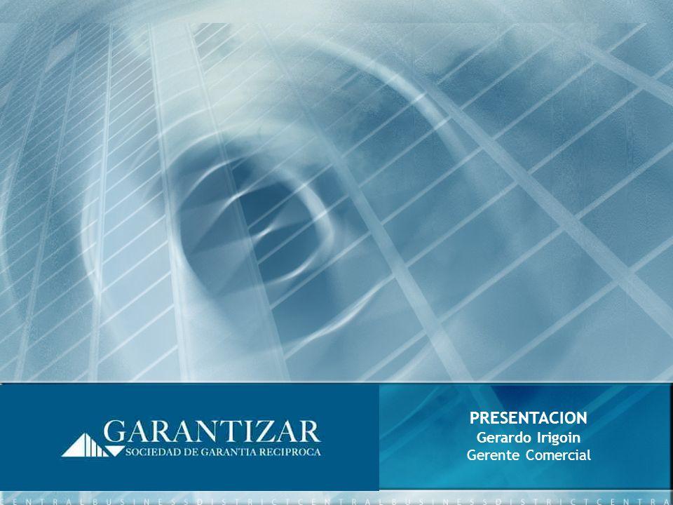 PRESENTACION Gerardo Irigoin Gerente Comercial