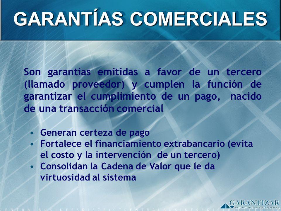 GARANTÍAS COMERCIALES