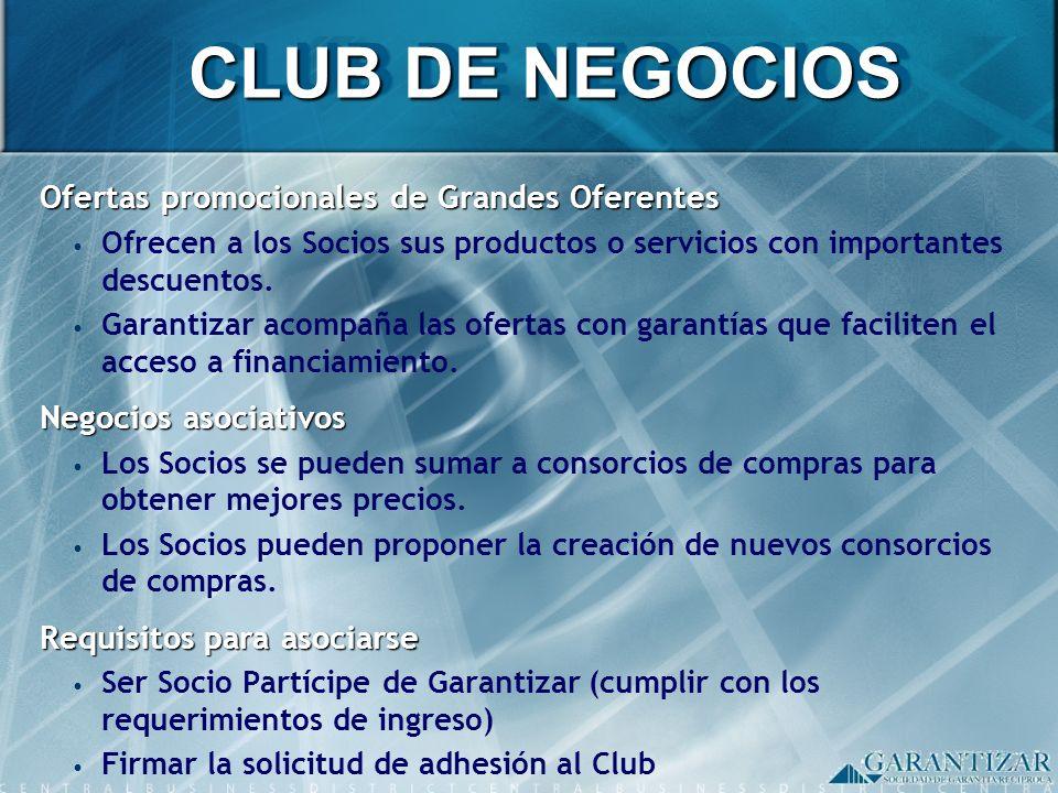 CLUB DE NEGOCIOS Ofertas promocionales de Grandes Oferentes