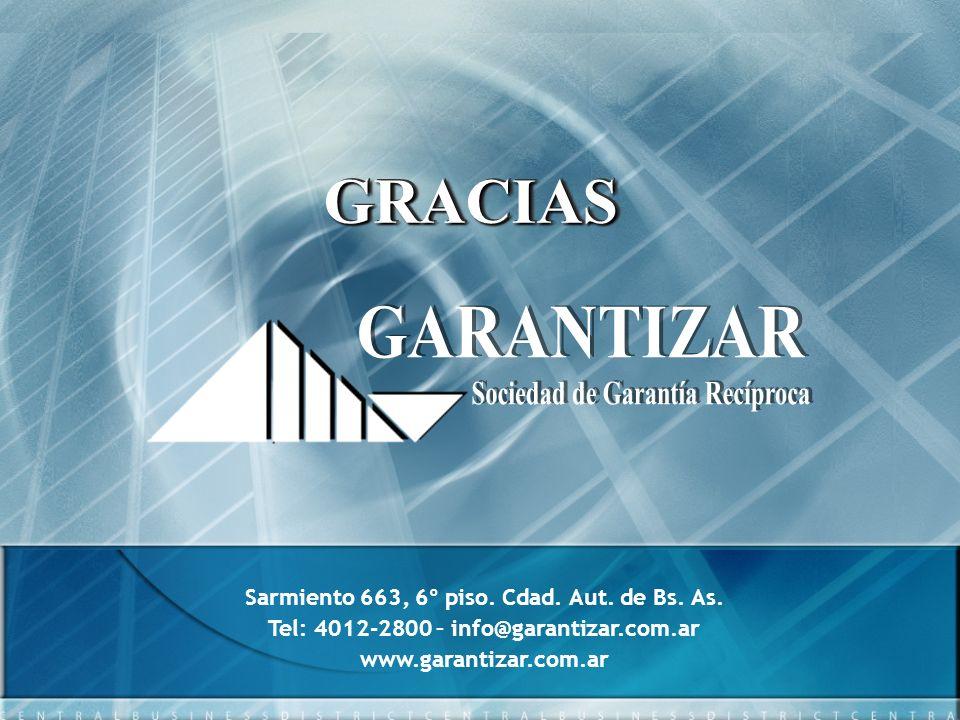 GRACIAS GARANTIZAR Sociedad de Garantía Recíproca