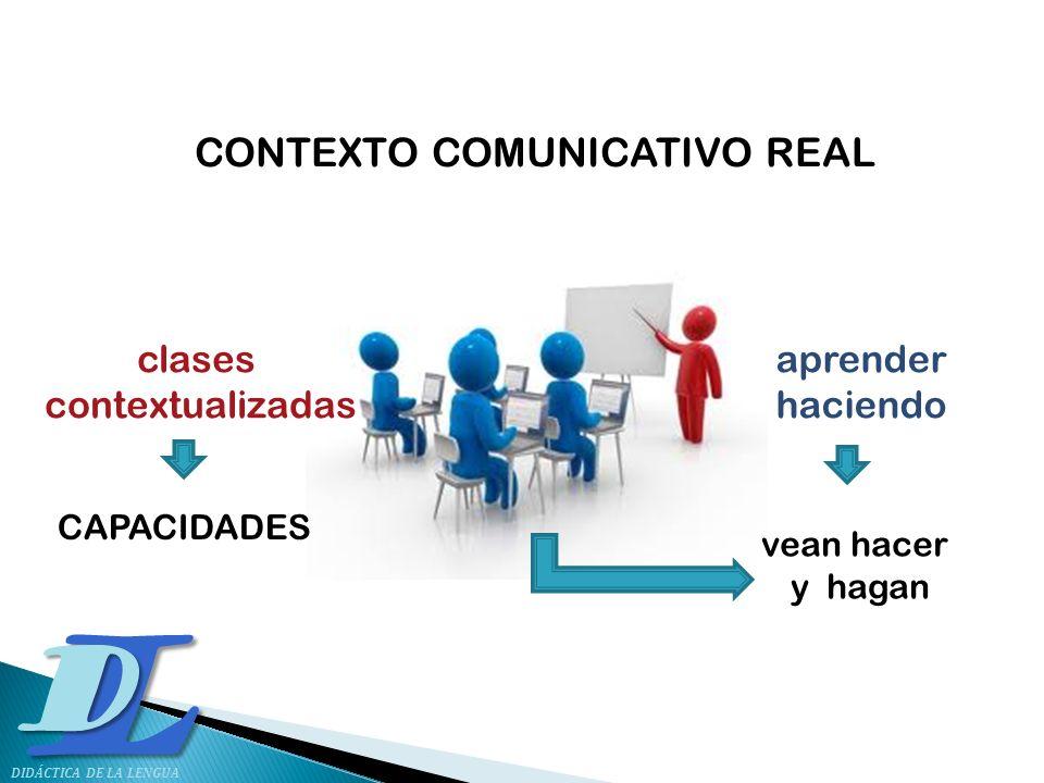 CONTEXTO COMUNICATIVO REAL