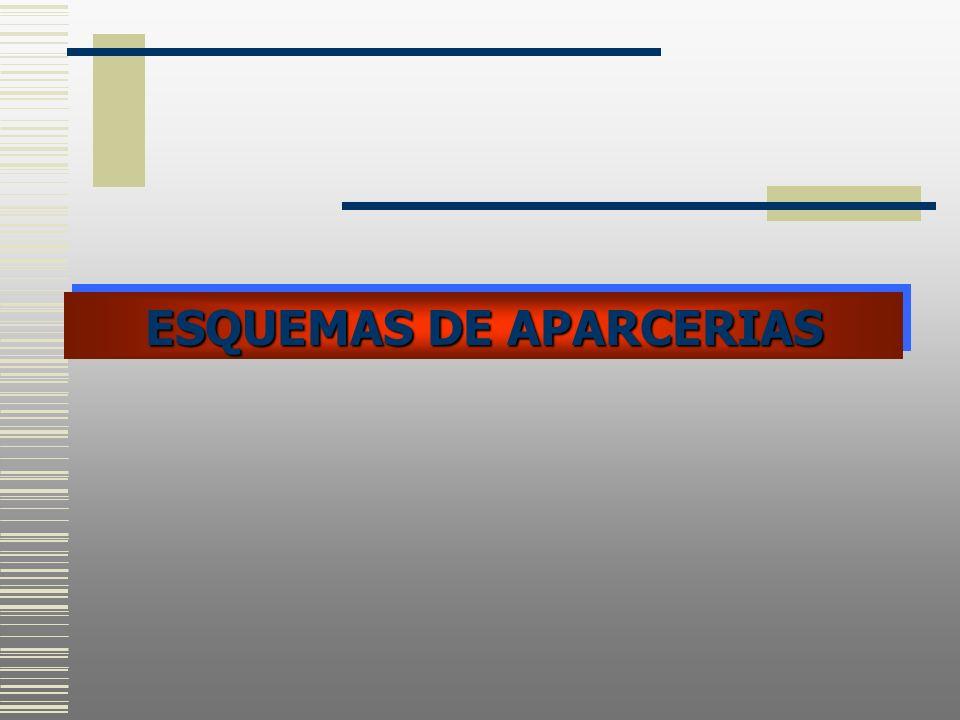 ESQUEMAS DE APARCERIAS