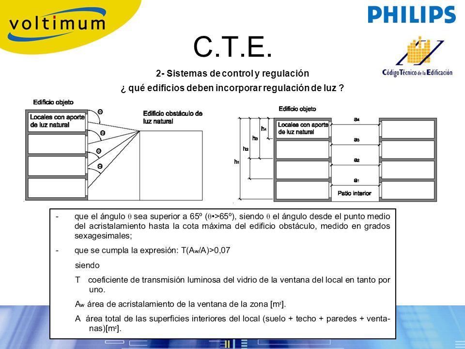 C.T.E. 2- Sistemas de control y regulación