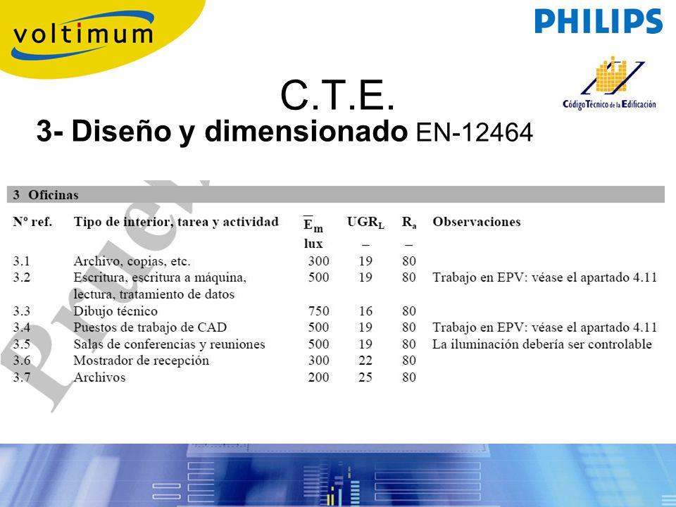 3- Diseño y dimensionado EN-12464