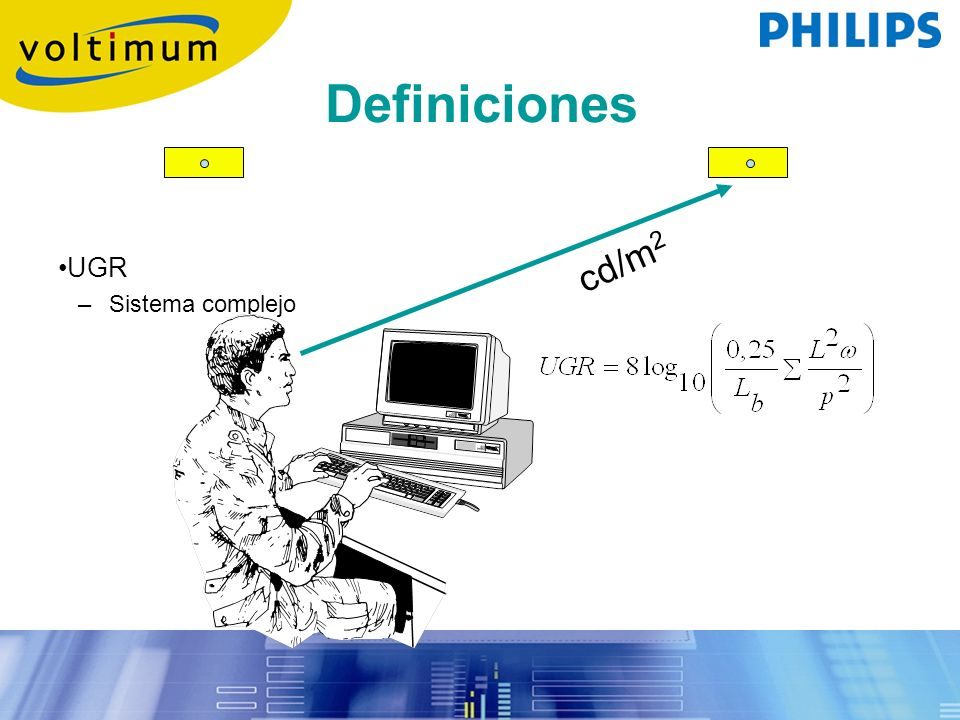 Definiciones cd/m2 UGR Sistema complejo