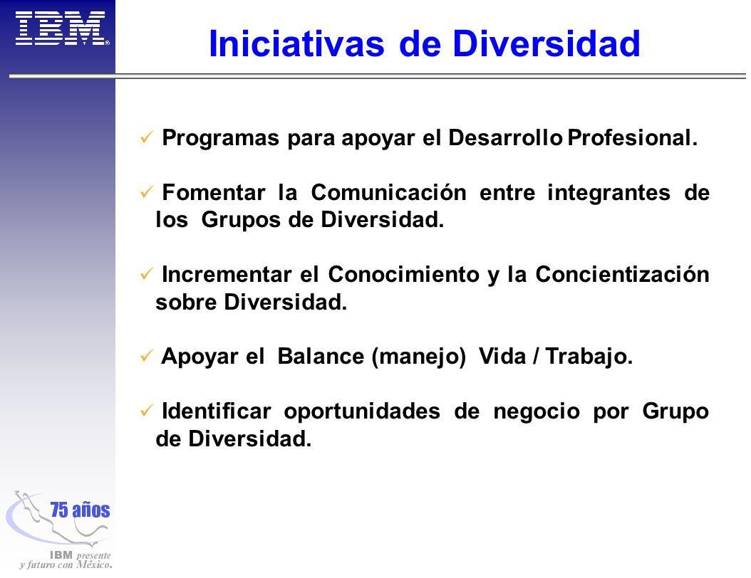 Iniciativas de Diversidad