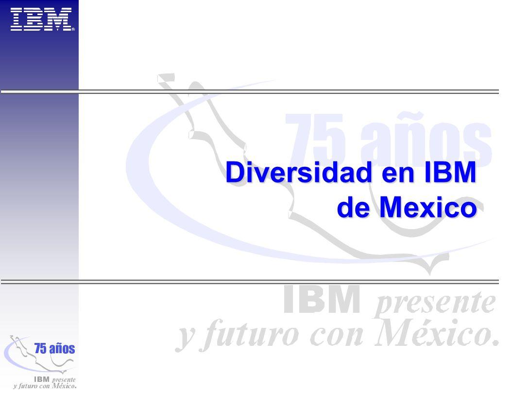 Diversidad en IBM de Mexico