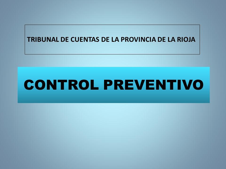 TRIBUNAL DE CUENTAS DE LA PROVINCIA DE LA RIOJA
