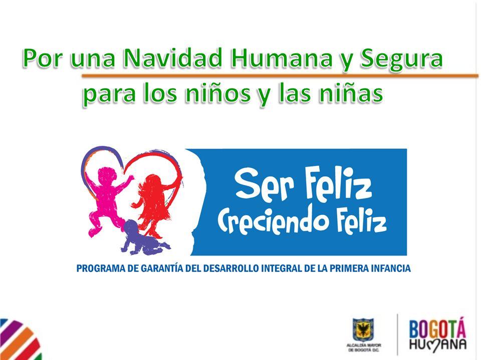 Por una Navidad Humana y Segura para los niños y las niñas