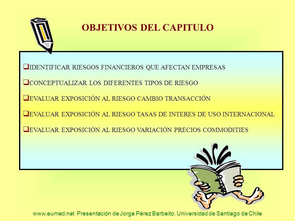 OBJETIVOS DEL CAPITULO