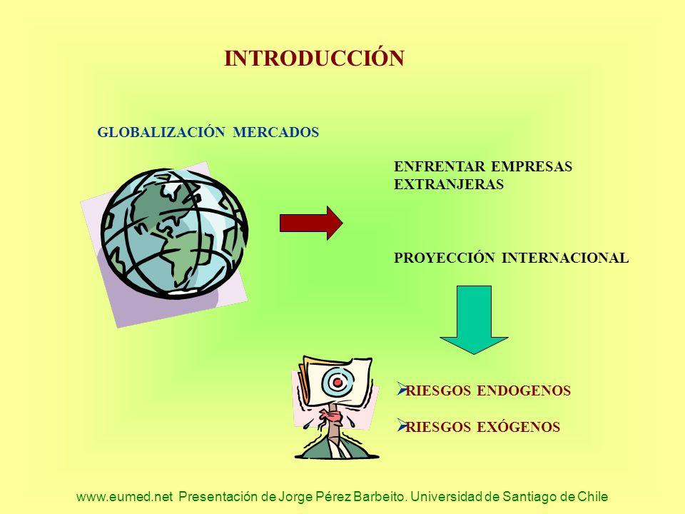INTRODUCCIÓN GLOBALIZACIÓN MERCADOS ENFRENTAR EMPRESAS EXTRANJERAS