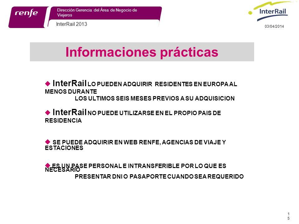 Informaciones prácticas