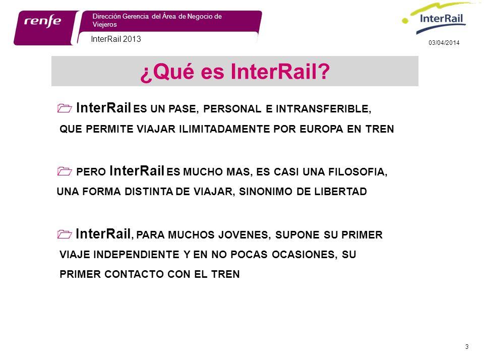 ¿Qué es InterRail  InterRail ES UN PASE, PERSONAL E INTRANSFERIBLE,