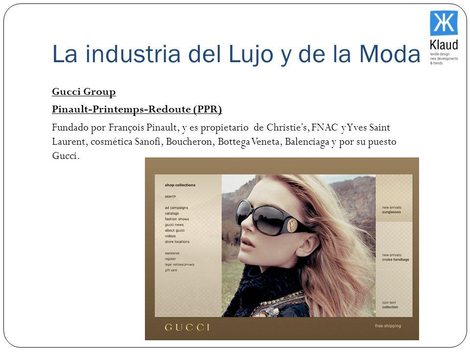 La industria del Lujo y de la Moda