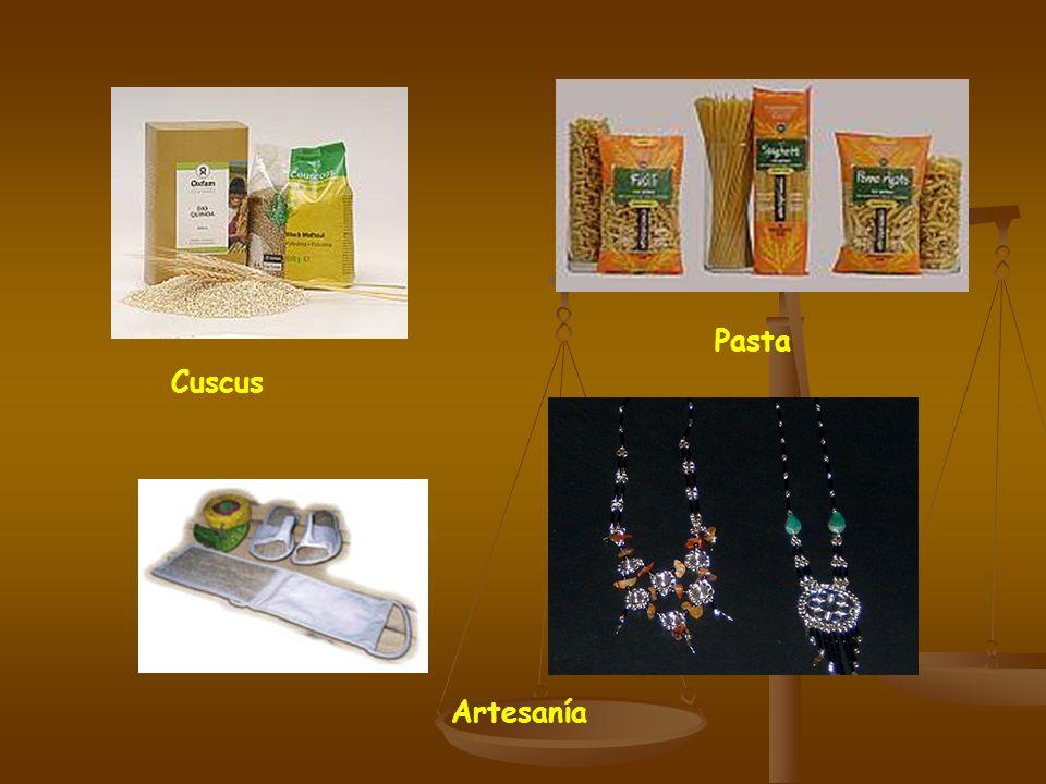 Pasta Cuscus Artesanía