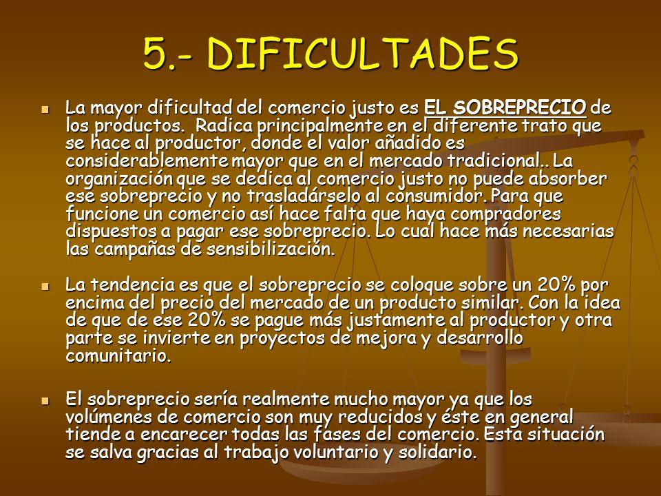 5.- DIFICULTADES
