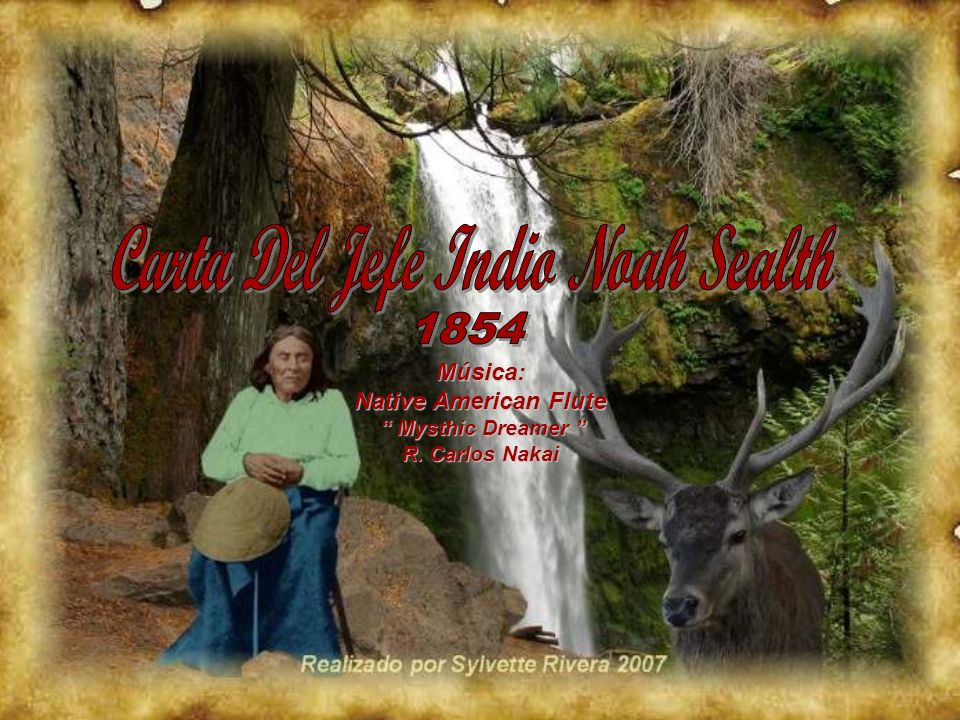 Carta Del Jefe Indio Noah Sealth